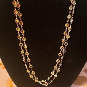 Aurora Borealis Chanelle Necklace